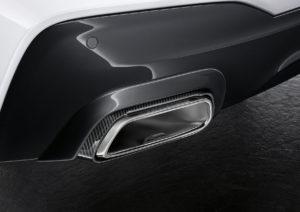 BMW 6er GT Performance Parts Exhaust Carbon